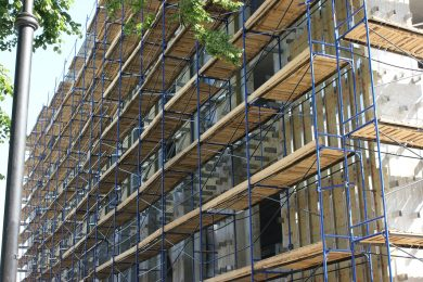 Wärmedämmung und Fassadenbau